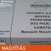 Nissan-Renault Maxity 2.5dci Vezérlés átalakító szett: