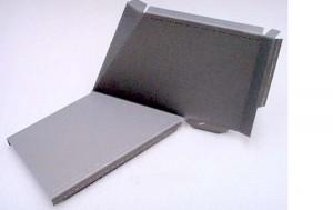 Citroen 2CV hátsó doblemez alsó javító elem