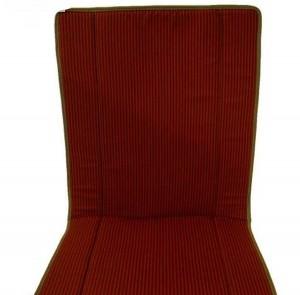 Citoren 2CV első üléskárpit piros