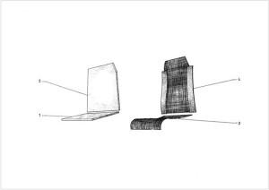 Citroen 2CV belső kialakítás