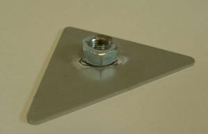 Citroen 2CV tükör rögzítőelem