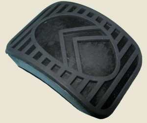 Citroen 2CV pedálgumi