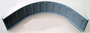 Citroen 2CV csomagtér íves burkoló lemez