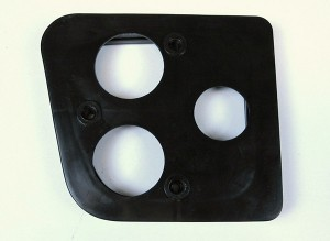 Citroen 2CV hátsó lámpa távtartó fekete 5
