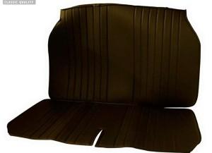 Citoren 2CV hátsó üléskárpit műbőr