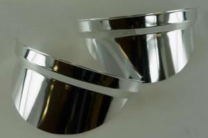 Citroen 2CV fényszóró díszítő elem szett