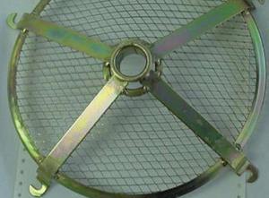 Citroen 2CV hűtőventillátor lapát rács