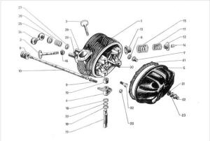 Citroen 2CV hengerfej