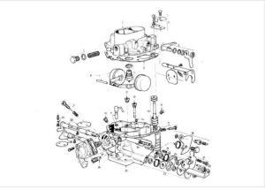 Citroen 2CV karburátor