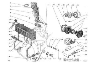 Citroen 2CV motorolaj pumpa
