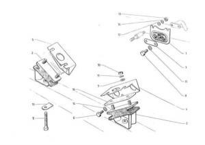 Citroen 2CV motortartó bakok